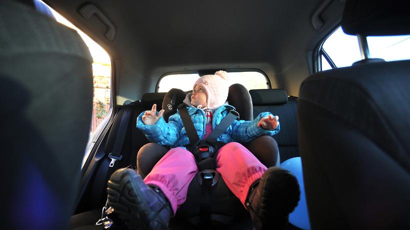 ГИБДД Люберец проверит наличие детских кресел в автомобилях с 4 мая
