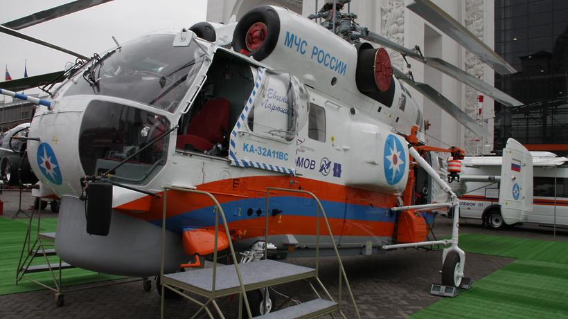 В российской столице пятилетнего ребенка сместа ДТП эвакуировали вертолетом