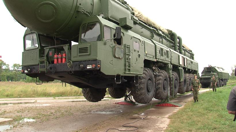 Пусковая установка межконтинентальных баллистических ракет тополь