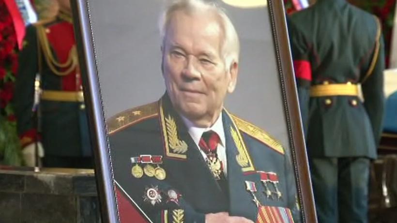 В столице установят монумент создателю автоматаАК Михаилу Калашникову