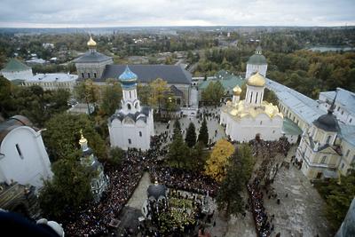 Кладку, стены и своды собора Сошествия Святого Духа восстановили в Сергиевом Посаде
