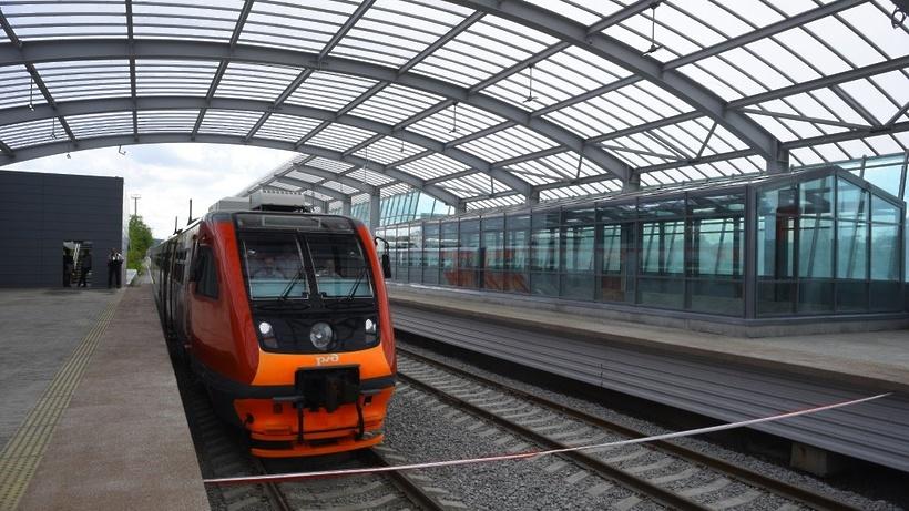 Малое кольцо московской железной дороги схема