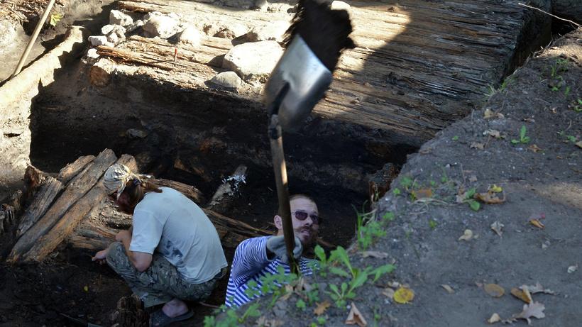 Найденные человеческие останки вцентре столицы были захоронены сто лет назад