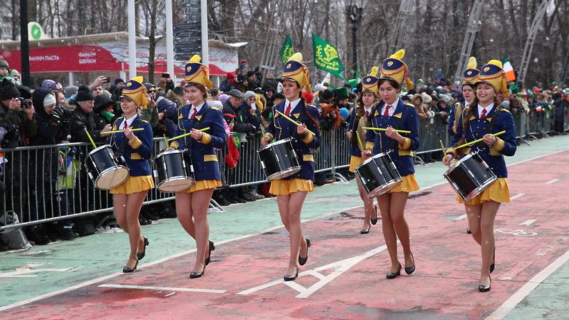ВДень святого Патрика Москва позеленеет