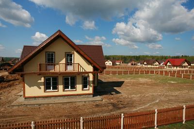 Число введенных в эксплуатацию индивидуальных жилых домов в Подмосковье выросло на 12,5%