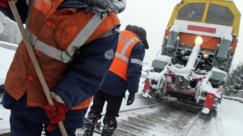 Снегопад неповлиял наработу Московской железной дороги