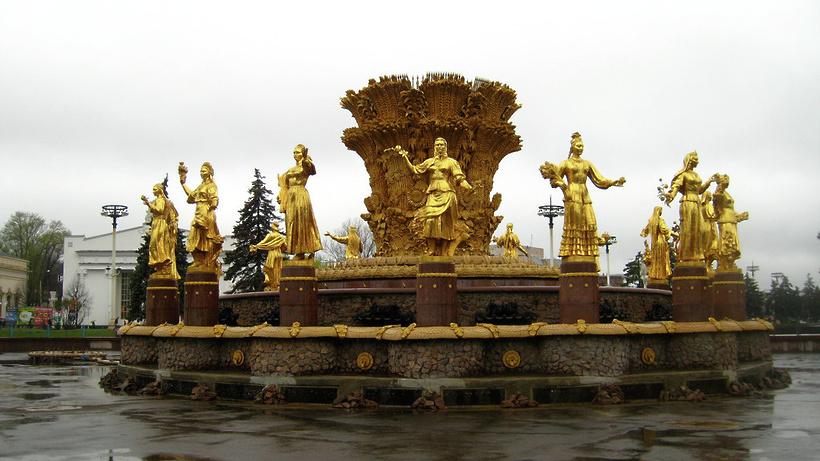 Сезон фонтанов завершился вМоскве