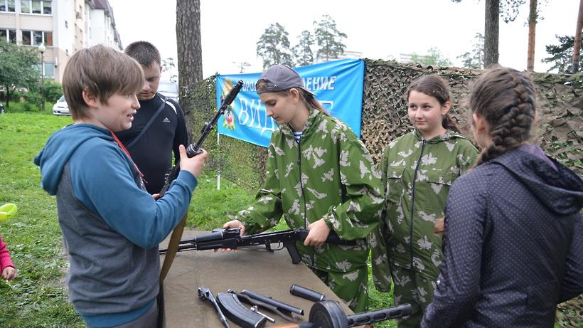 Фото со дня молодежи в автозаводском районе