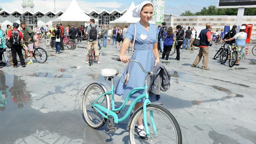 Ежегодный женский велопарад пройдет вмосковском парке «Сокольники»
