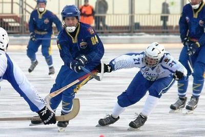 Команда из Королева победила в матче первенства Подмосковья по хоккею с мячом