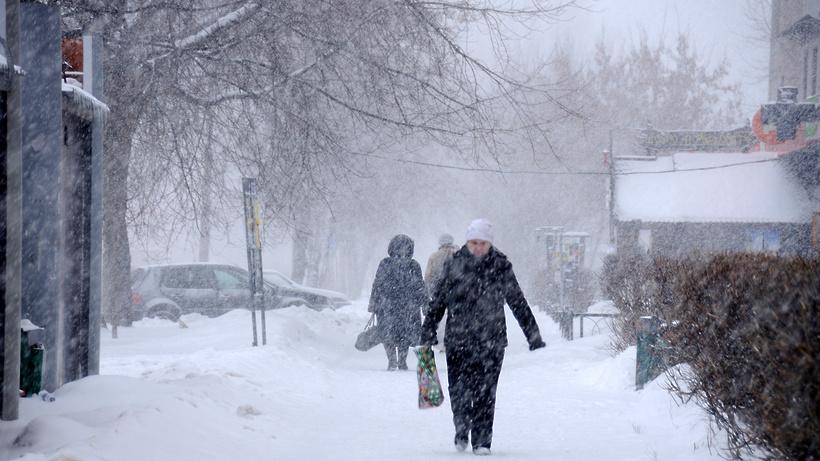 Метель ожидается вНижегородской области 7