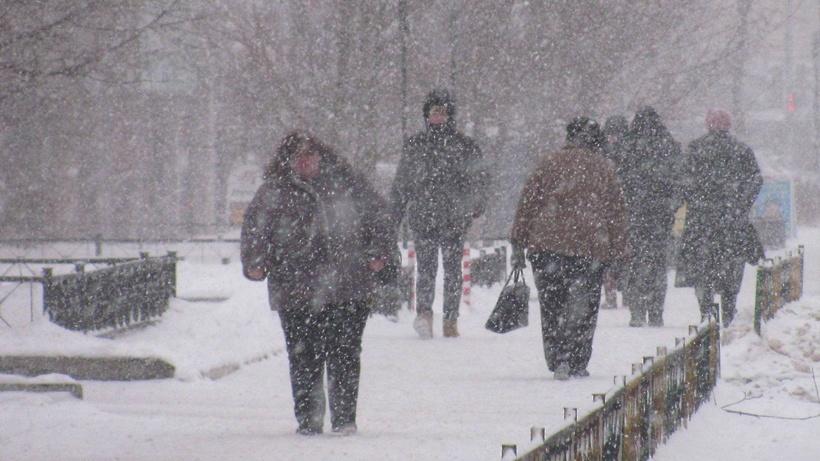 Встолице ожидаются гололедица, мокрый снег исильный ветер