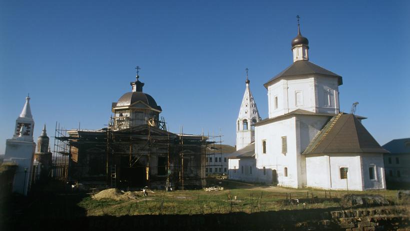 Вечер, посвященный восстановлению Бобренева монастыря, пройдет в Коломне в четверг