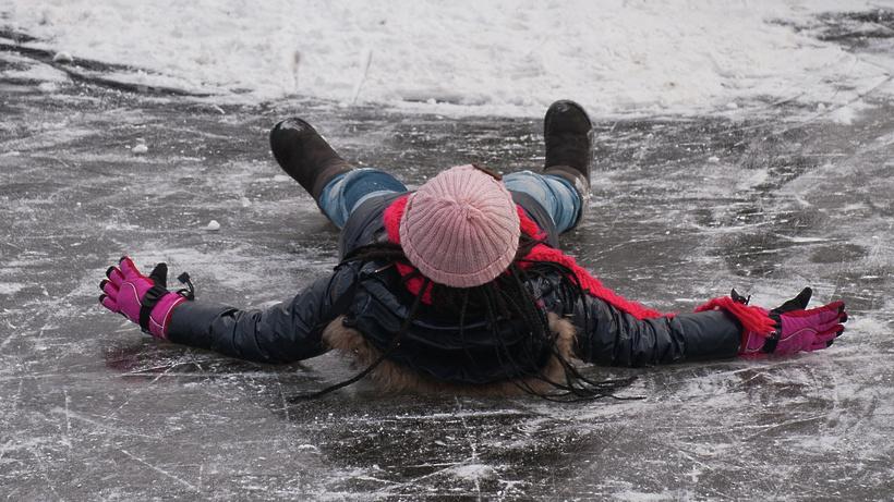 Сильный гололед будет предпосылкой пробок— Погода в российской столице