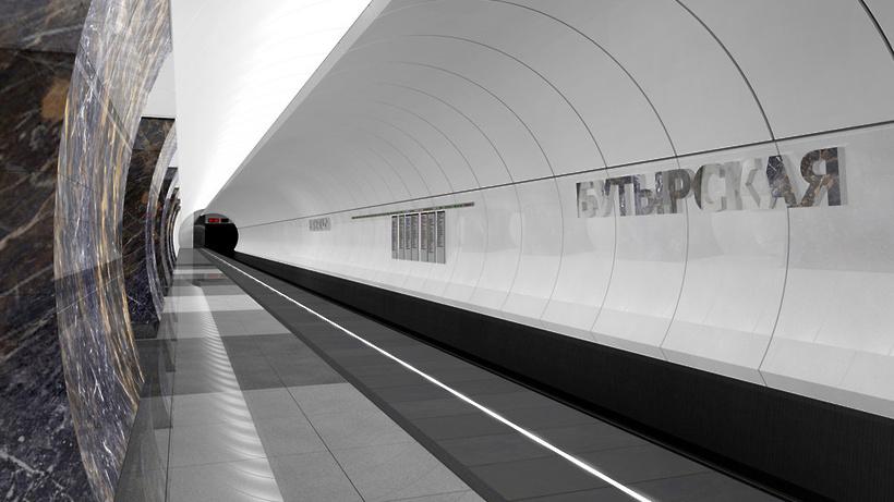 Пробный поезд прошел попусковому участку «салатовой» веточки Московского метрополитена