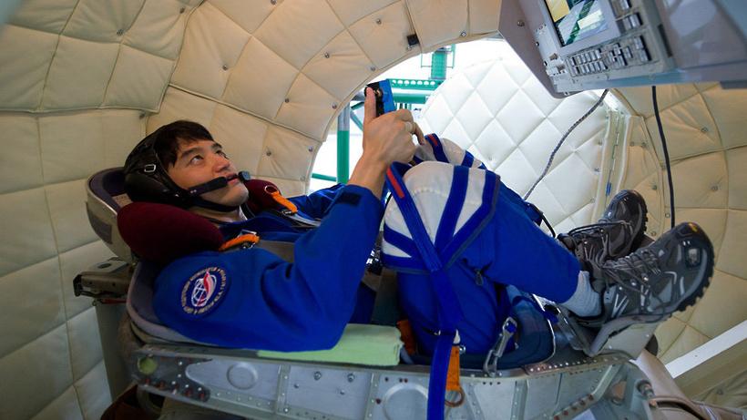 НаВДНХ доставили модуль орбитальной станции «Мир»