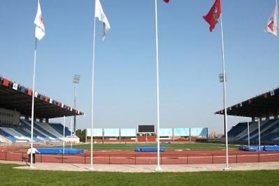 На стадионе в Ивантеевке оборудуют трибуну для зрителей и автостоянку для сотрудников