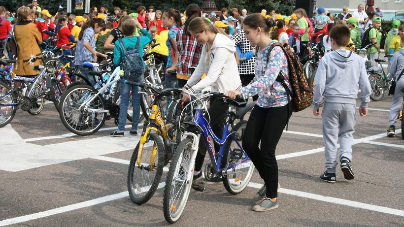 В воскресенье в Москве пройдет традиционный осенний велопарад