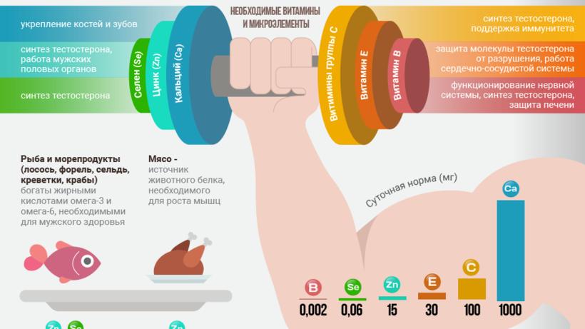 Какие продукты употреблять для повышения потенции