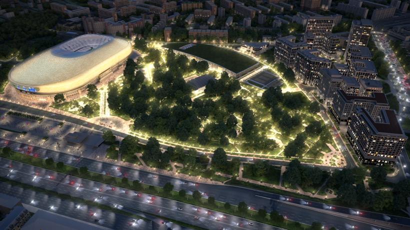Сборная России проведет матч нареконструированном стадионе «Динамо» перед стартомЧМ