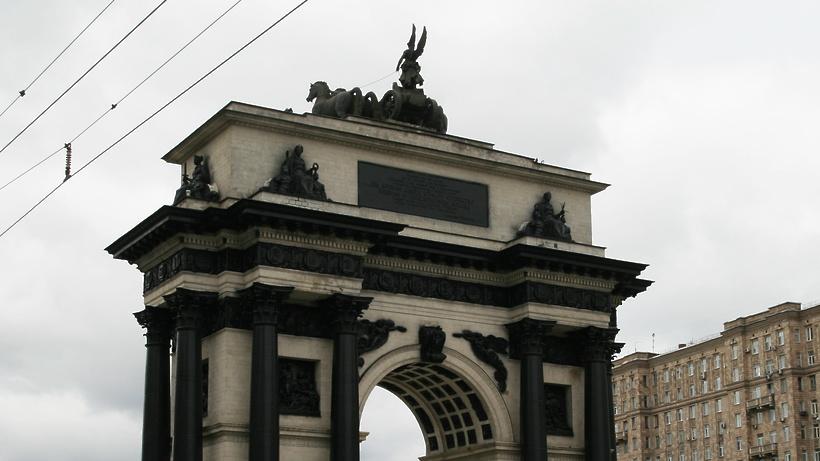 Световое шоу будут демонстрировать наТриумфальной арке с23 по26февраля