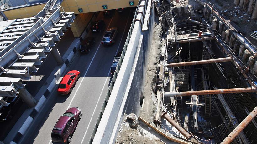 Две транспортные развязки возведут в Подольске при строительстве Восточного обхода