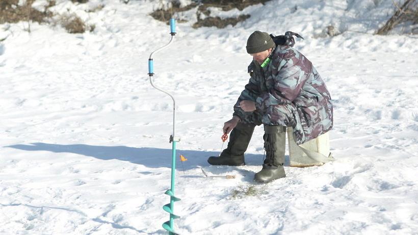 Зимняя рыбалка серпуховский район