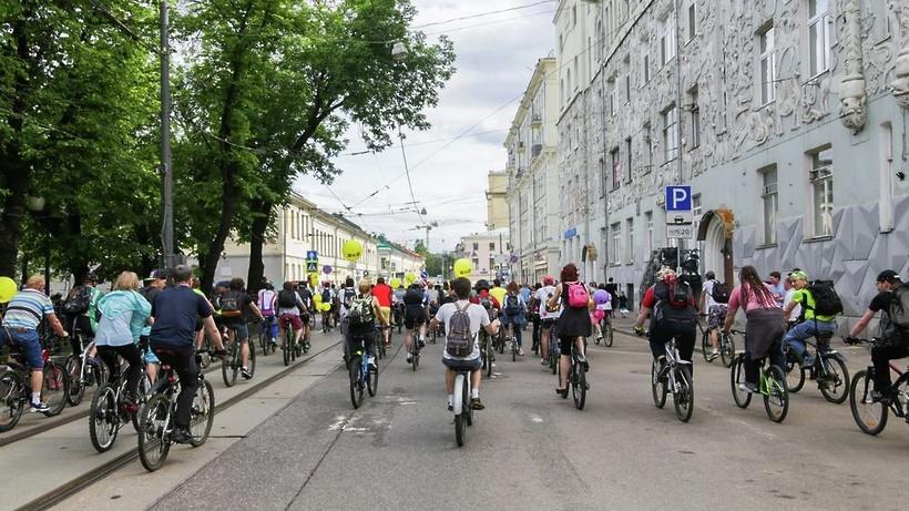 Всемирный день без автомобиля отметят многотысячным велопробегом по столице