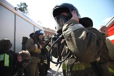 Огнеборцы ликвидировали возгорание в бане в деревне Подольска