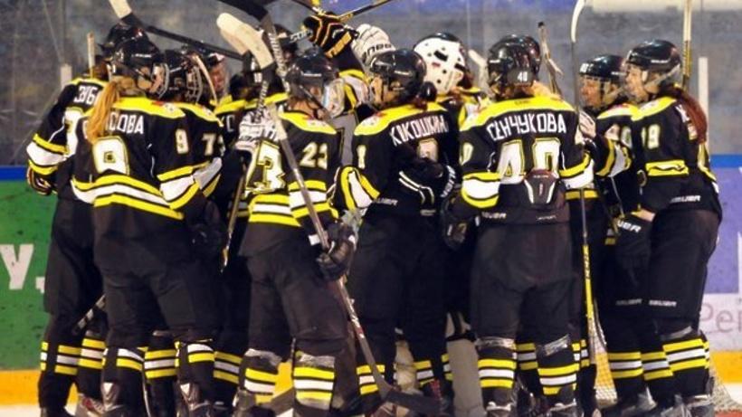 «Торнадо» победило «Агидель» вматче 2-го вистории чемпионата Женской хоккейной лиги