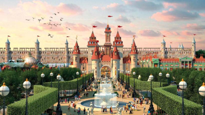 В российской столице откроют развлекательный парк для семейного отдыха DreamPlay