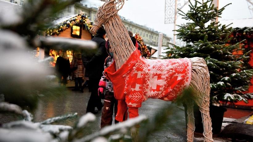 В столице открылся традиционный зимний фестиваль «Путешествие вРождество»