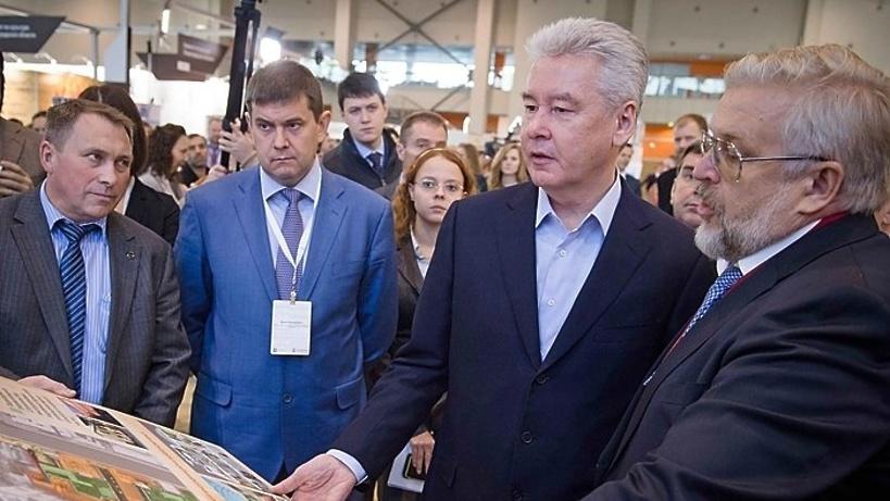 Собянин открыл посвященную реконструкции выставку «Denkmal»