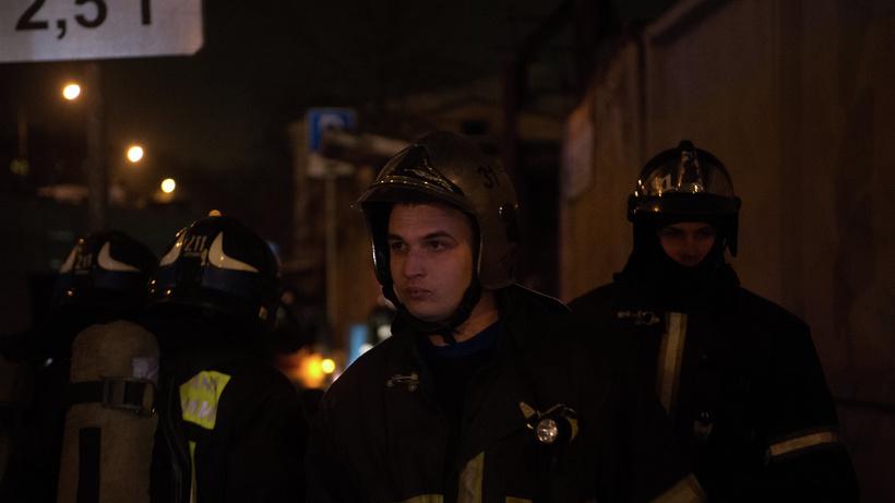 При пожаре вквартире вКлину никто непострадал