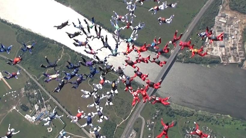 Касимово парашютисты видео рекорд мира — pic 8