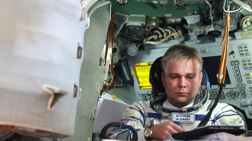 Космонавт Максим Сураев