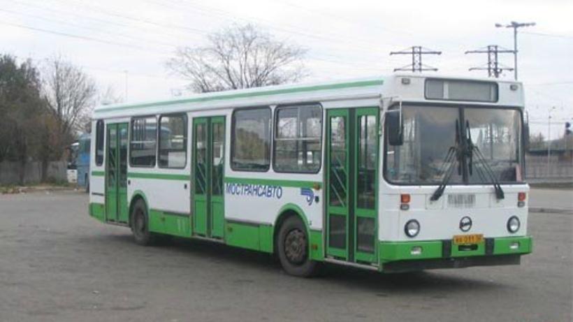 Автобус на звенигород