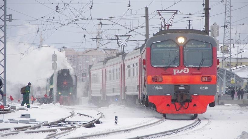 ВСерпухове пропали полкилометра железнодорожных путей