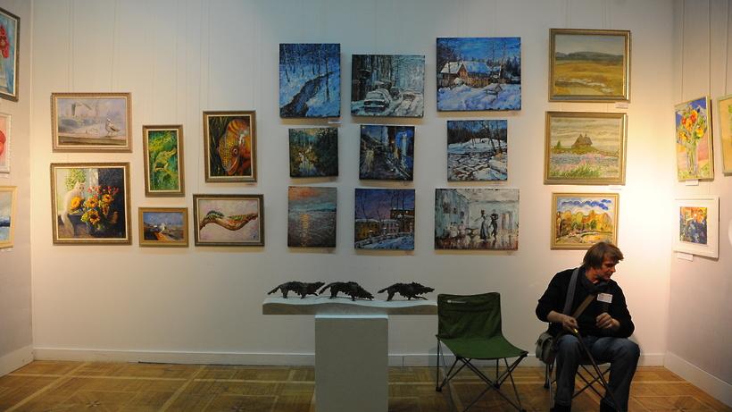 Выставка в доме художника