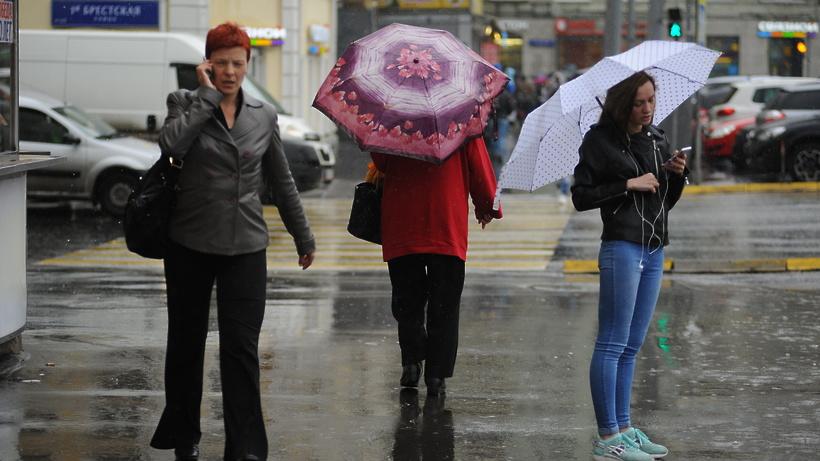 В столицу вместе степлом идут дожди