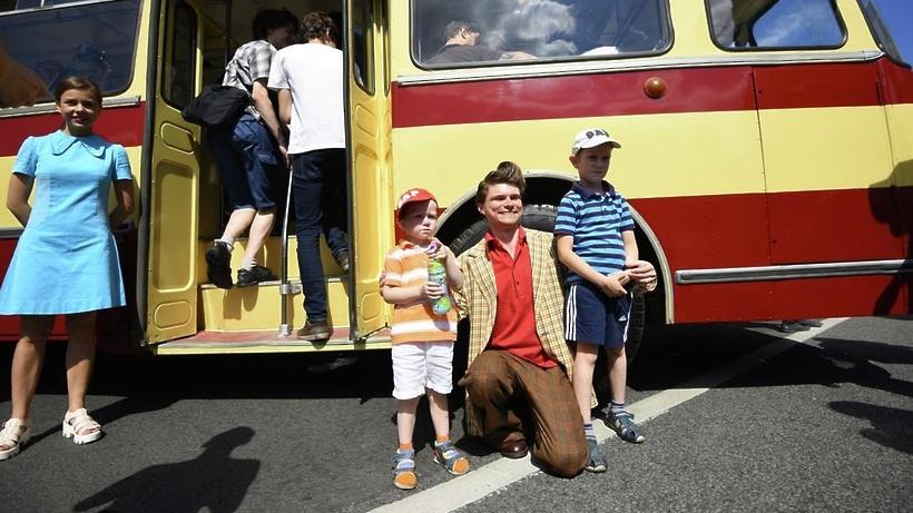 Выставка ретро-автобусов состоится наФрунзенской набережной