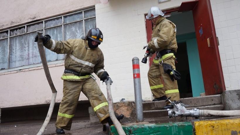 Пожар на газораспределительной подстанции ликвидировали в Коломне