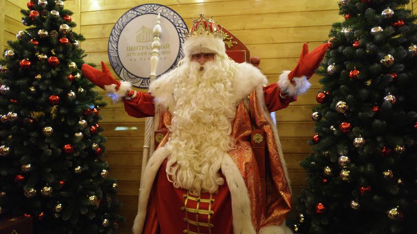 С1декабря в российской столице начинает работу почта Деда Мороза