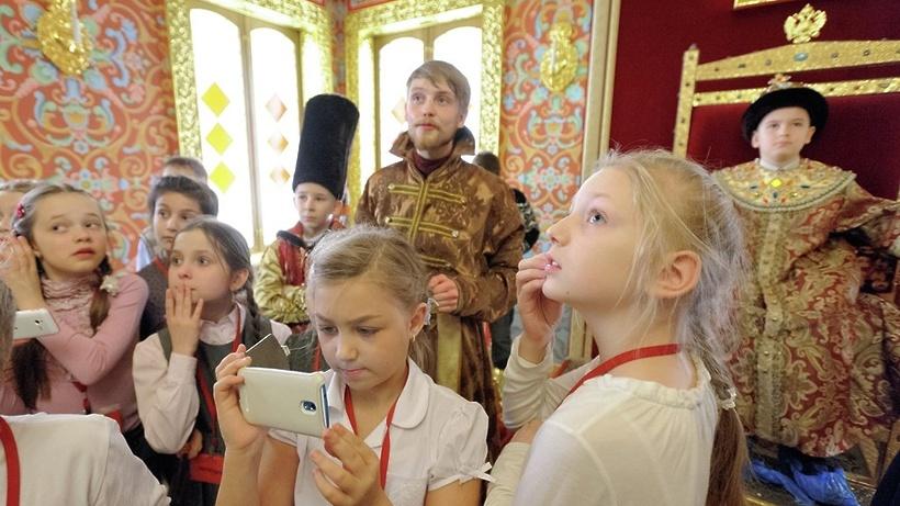 Москвичи приняли участие вголосовании «Активного гражданина», посвященном школьным экскурсиям