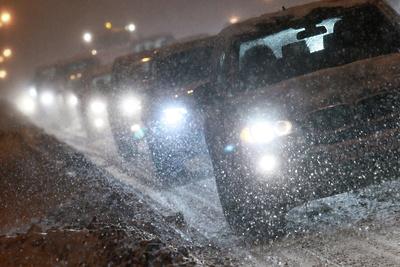 Пробки на столичных дорогах достигли 7 баллов вечером в понедельник