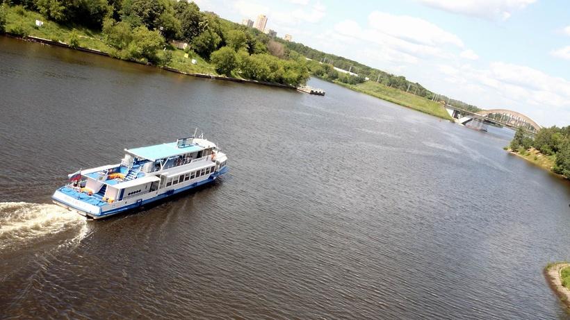 Сезон навигации речного транспорта стартовал вМосковской области