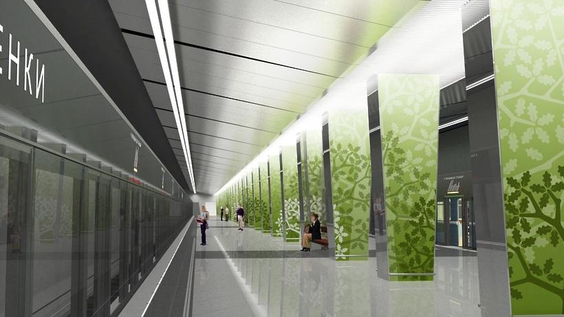 Поезда достанции метро «Раменки» запустят в2015-м году