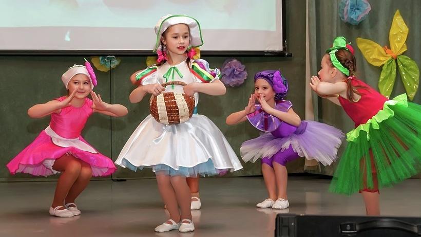 Танцевальные конкурс для детей