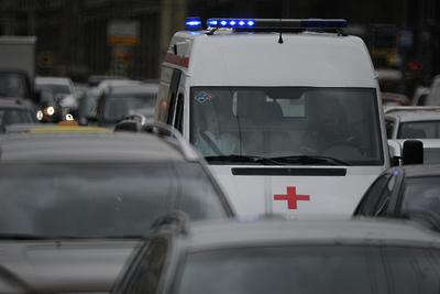 Появилось видео наезда пьяного водителя на человека, сопровождающего инвалида в Подольске