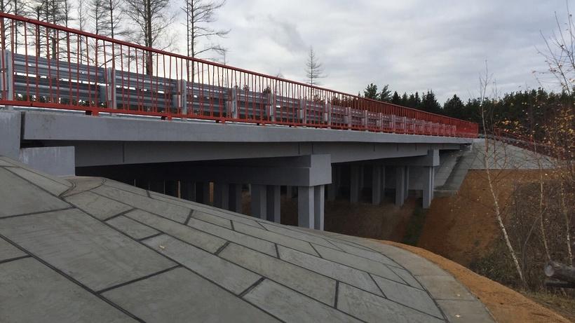 Путепровод в Одинцове отдадут до гроба 2017 года